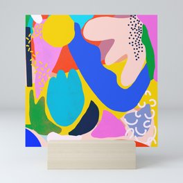 Unbridled Enthusiasm - Shapes and Layers no.38 Mini Art Print