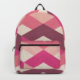 Pink Fancy Pattern Backpack