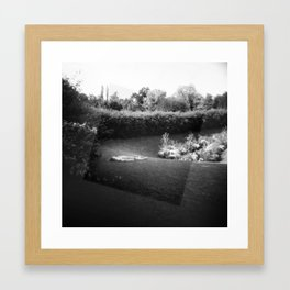 French Dreams - Holga photograph Framed Art Print
