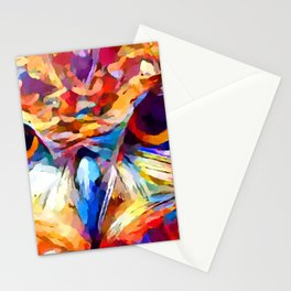 Owl Watercolor 2 Stationery Cards