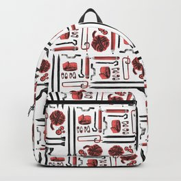 Knitting Kit Backpack