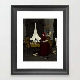 Storytime with Goblins Framed Art Print