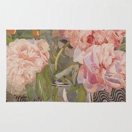 Charles Rennie Mackintosh - Peonies (ca. 1920) Rug