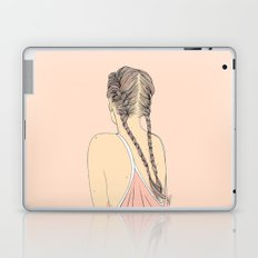 Pretty In Pink Pigtails Laptop & iPad Skin