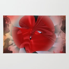 red polynomial flower -2- Rug