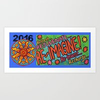 2016 Re-Imagine  Art Print