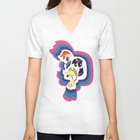 mlp V-neck T-shirts featuring MLP by pixel.pwn | AK