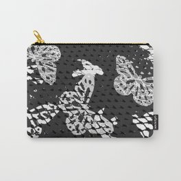 CAGED BIRDS AND BUTTERFLIES Carry-All Pouch