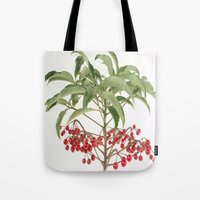 spice Tote Bags featuring Spice Berry  by taiche