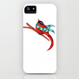 Warm Red iPhone Case