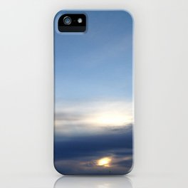 Melbourne Sky 08/08/2016 7:34:00am 18/160 iPhone Case
