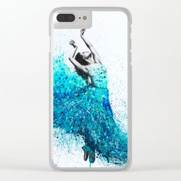 Tropical Reef Dance Clear iPhone Case