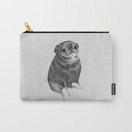 Sweet Black Pug Carry-All Pouch