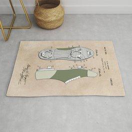 patent Harper Baseball cleat 1928 Rug