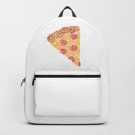 Emoji Calligraphy Art :Pizza Backpack