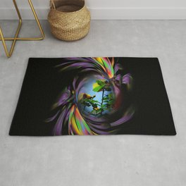 Abstract in Perfection - Flowermagic Roses Rug