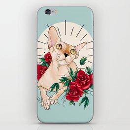 Ramona in flowers iPhone Skin