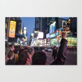 Take Times Square Canvas Print