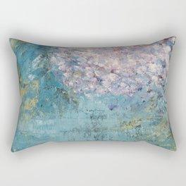 Cherry Blossom Falls Rectangular Pillow