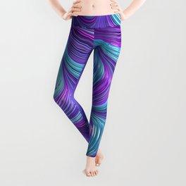 Jewel Tone Abstract Leggings