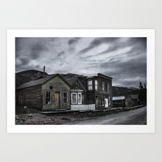 St. Elmo Ghost Town Art Print