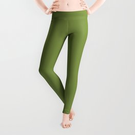 Peridot Color Accent Leggings