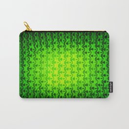 Emerald Abstraction Carry-All Pouch