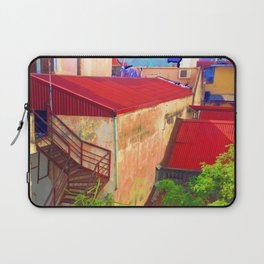 Vietnam Back alley Painting Blue Sky Laptop Sleeve