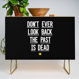 The Past Is Dead Credenza