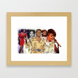 Jill Scott Framed Art Print
