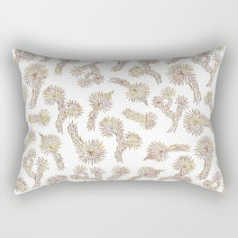 Joshua Tree Bricks by CREYES Rectangular Pillow
