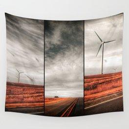 Windmills Wall Tapestry