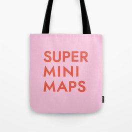 Superminimaps Tote Bag