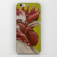 White Rooster iPhone & iPod Skin