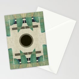 """""""Abstract Ships at the Sea"""" Stationery Cards"""