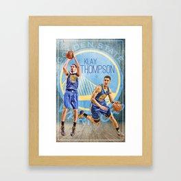 KLAY THOMPSON Framed Art Print
