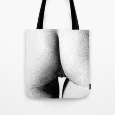 Abstract woman ink work Tote Bag