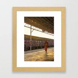 Sadhu India Framed Art Print