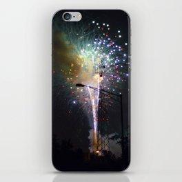 Fireworks II iPhone Skin