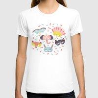 confetti T-shirts featuring Confetti by Petra Santaharju