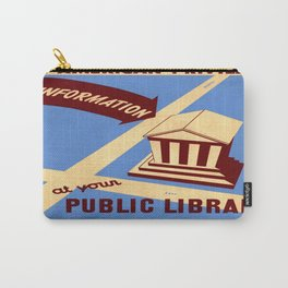 Vintage poster - Book Week Carry-All Pouch