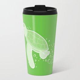 Apathetic Turtle Travel Mug