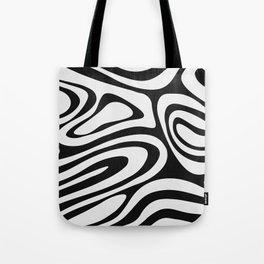 Black & White Minimal III Tote Bag