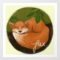 Fux Art Print