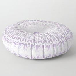 Purple Mandala Floor Pillow