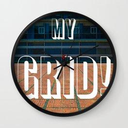 HO MY GRID! Wall Clock