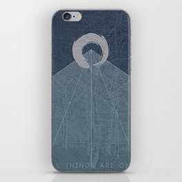 All Things Are One iPhone Skin