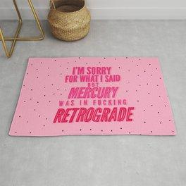 Mercury Retrograde pt. 2 Rug