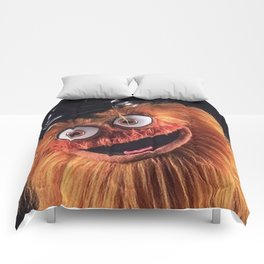 """Flyers New Mascot """"Gritty"""" Comforters"""