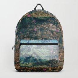 MM 333 . Purple x Mountain Scapes Backpack